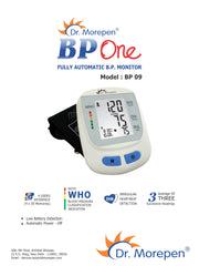 dr morepen bp monitor user manual