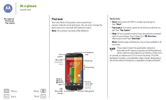 moto g user manual pdf
