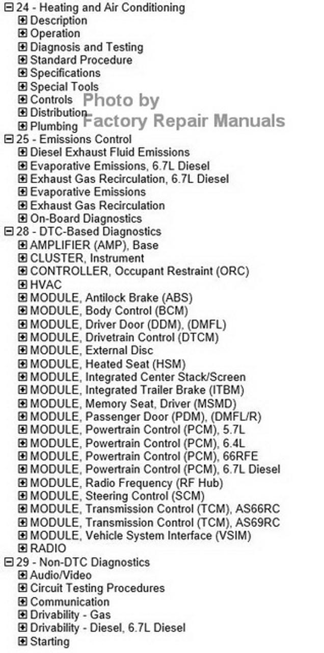 2017 ram 3500 service manual