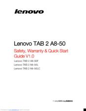 lenovo tab a8 50 user manual