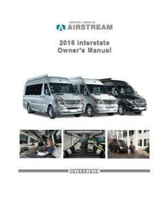 2016 airstream interstate owners manual