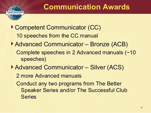 toastmasters cc manual speech 2