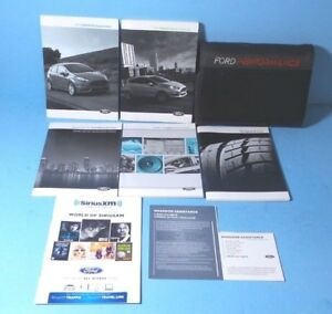 2016 ford fiesta se owners manual