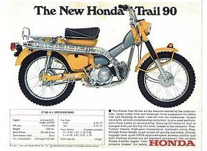 1967 honda trail 90 owners manual