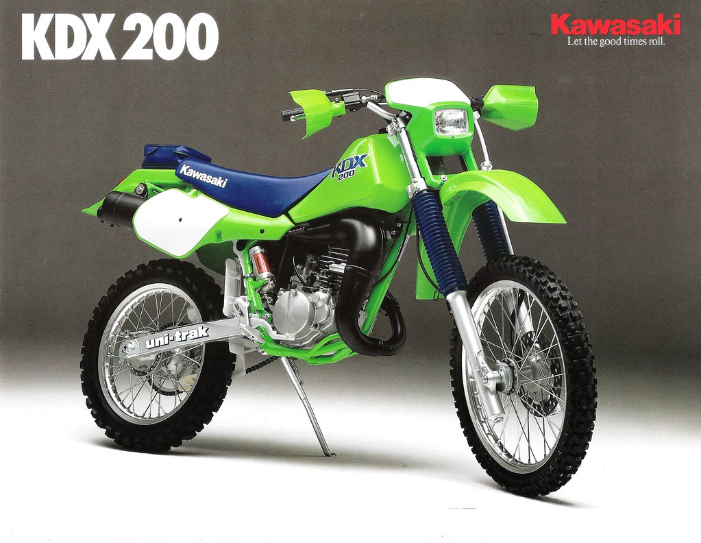 1986 kawasaki kdx 200 owners manual
