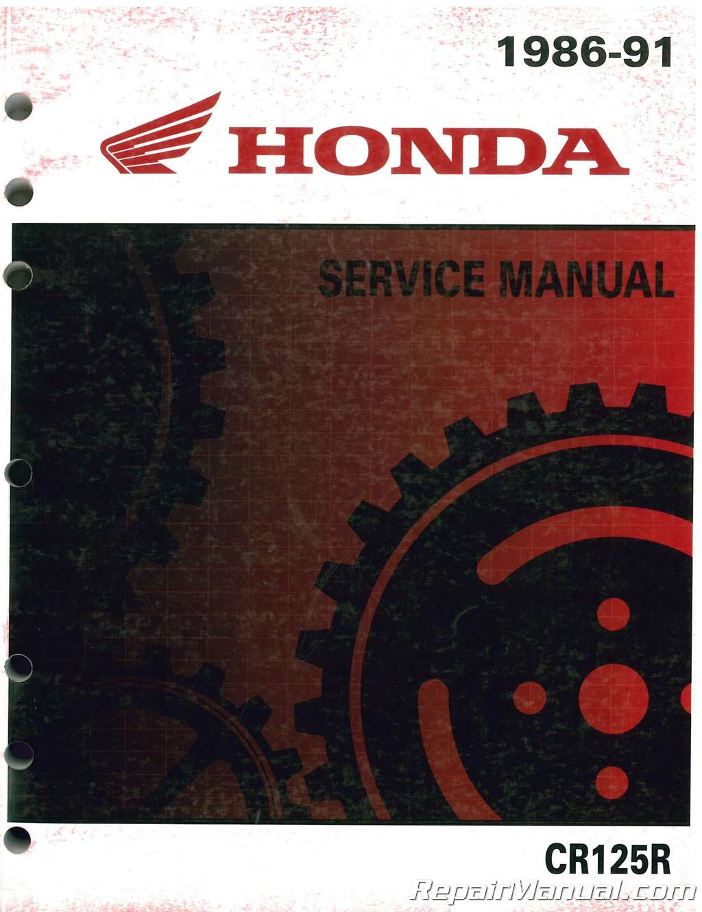 1989 honda cr125 owners manual