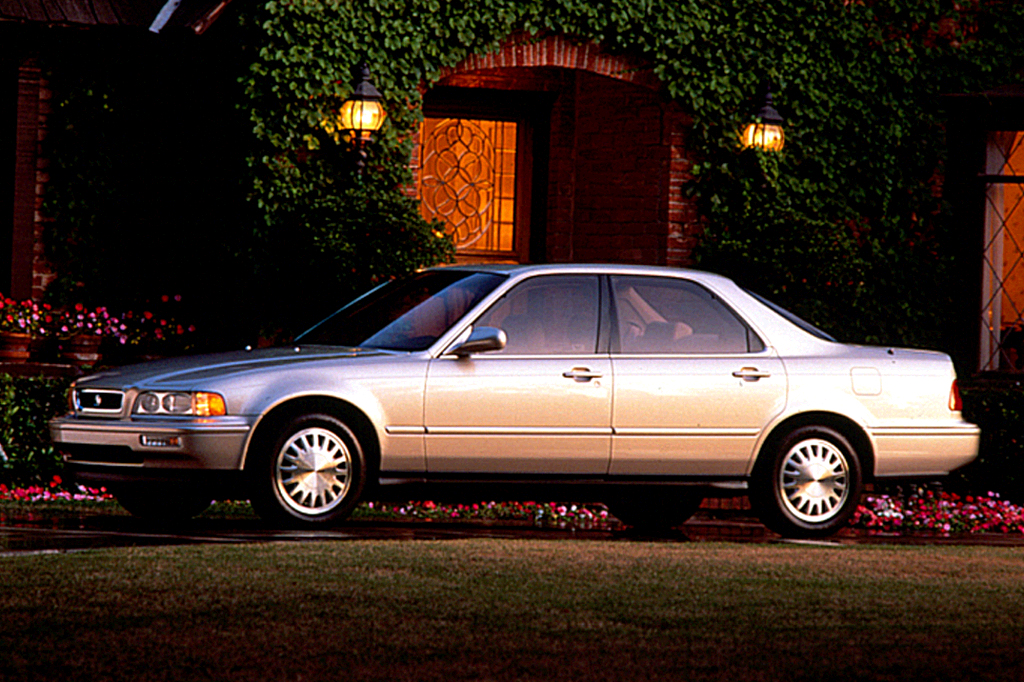 1991 acura legend owners manual