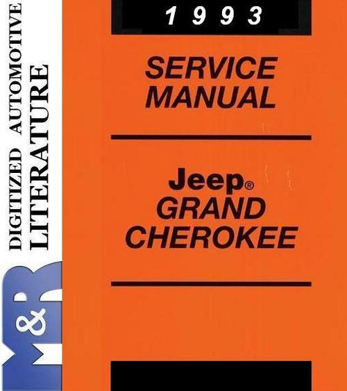 1993 jeep grand cherokee owners manual pdf