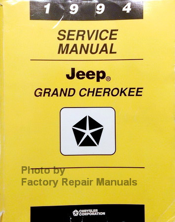 1994 jeep grand cherokee service manual