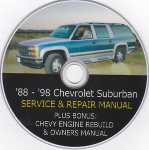 1998 chevy suburban owners manual