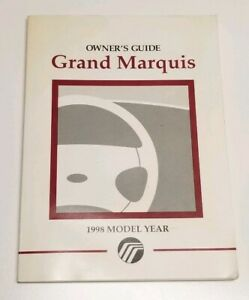 1998 mercury grand marquis owners manual