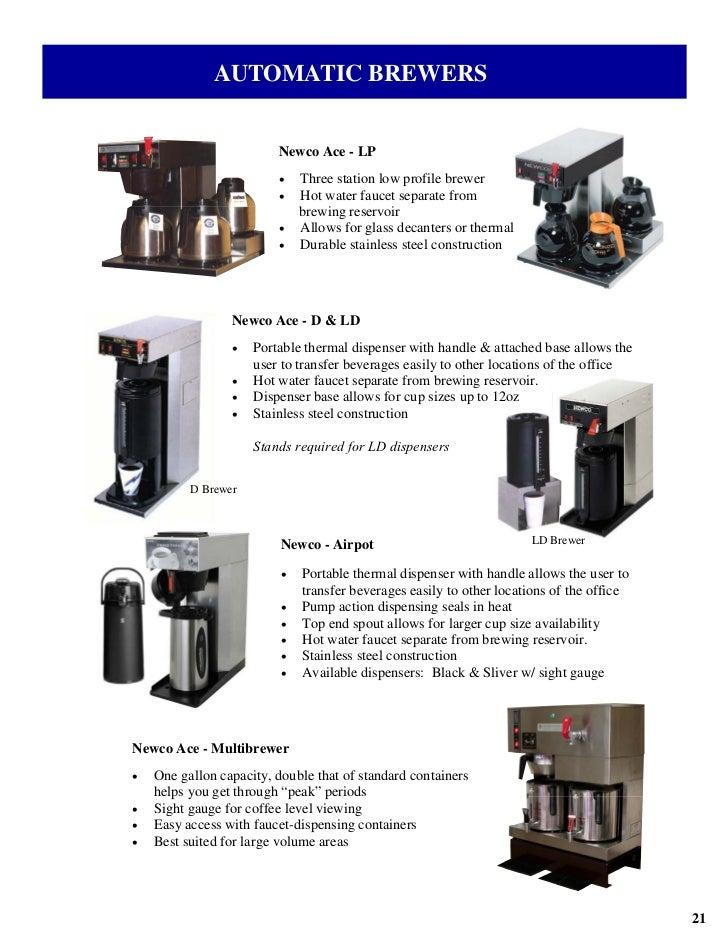 newco ace lp service manual
