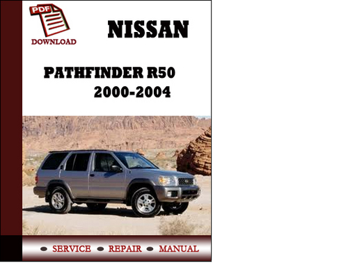 nissan pathfinder 2001 owners manual