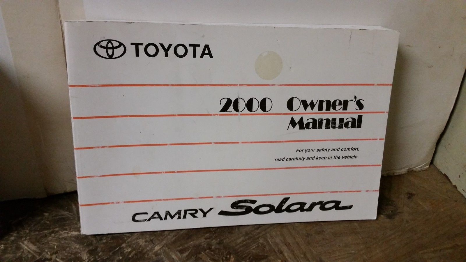 2000 toyota camry owners manual download