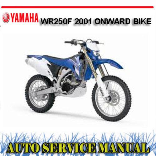2001 wr250f service manual pdf