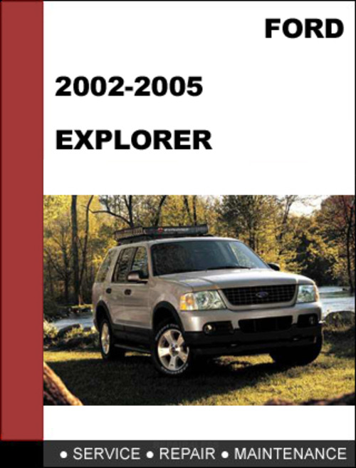 2002 ford explorer service manual download