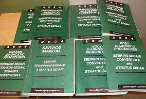 2003 chrysler sebring service manual