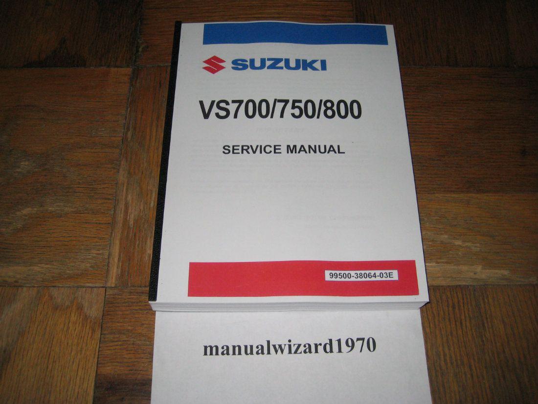 2003 suzuki intruder 800 service manual