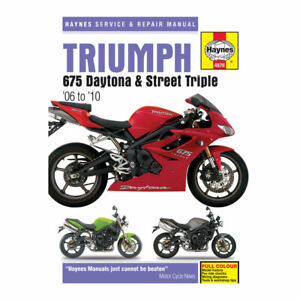 2010 triumph street triple owners manual