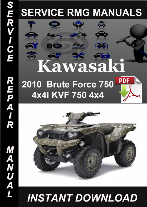 2013 kawasaki brute force 750 service manual