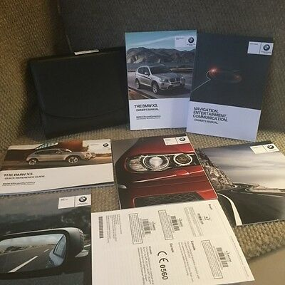 2014 bmw x3 owners manual