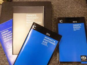 2014 scion tc owners manual pdf