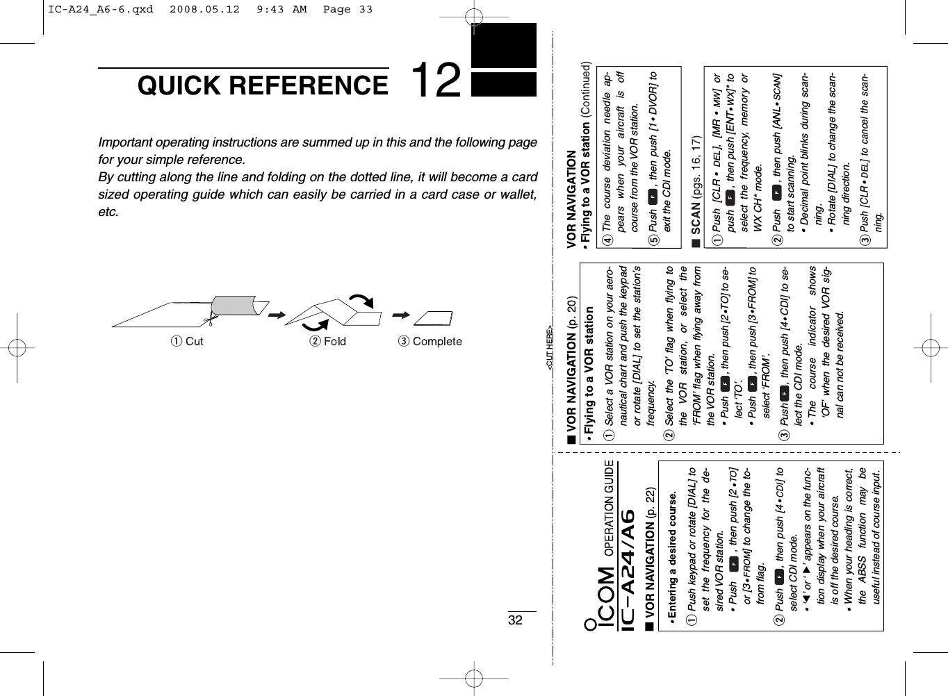icom ic a24 user manual