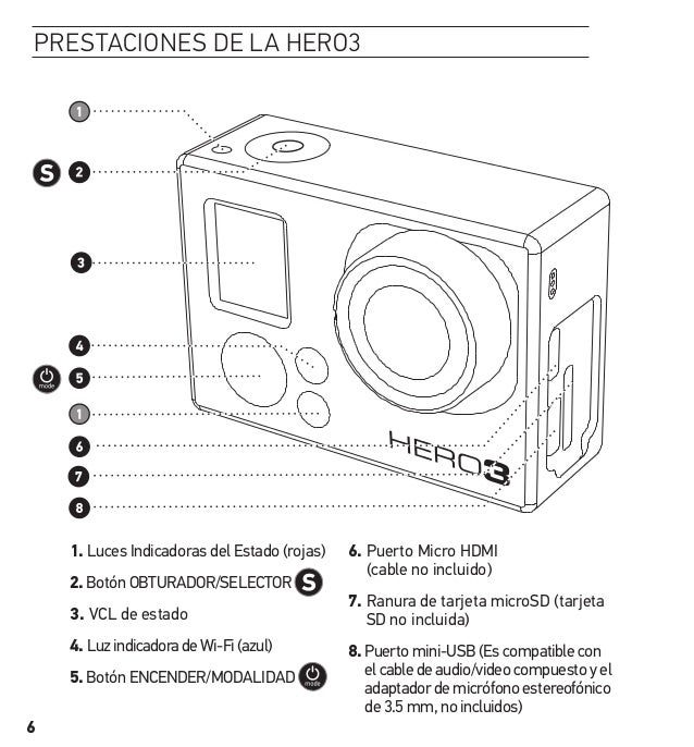 gopro hero 6 black user manual