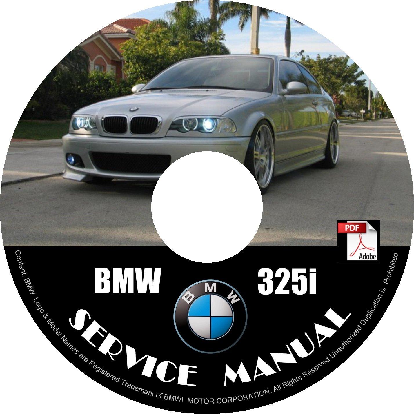 2005 bmw 325i service manual