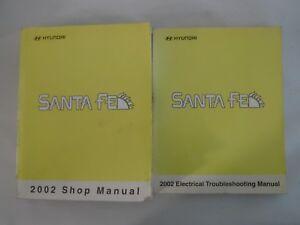 2002 hyundai santa fe service manual pdf