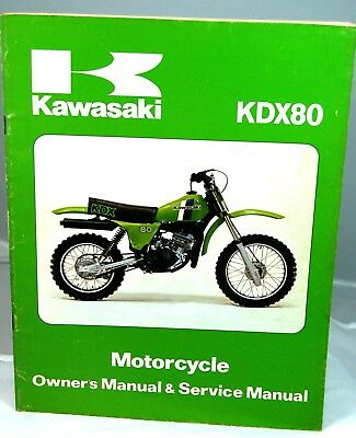kawasaki kdx 200 service manual