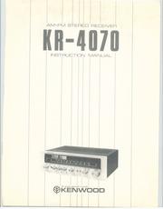 kenwood kr 4070 service manual