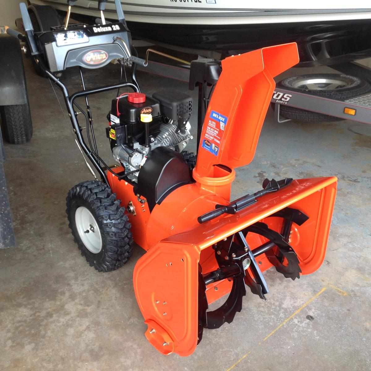 ariens st2 2 deluxe 5 snowblower manual