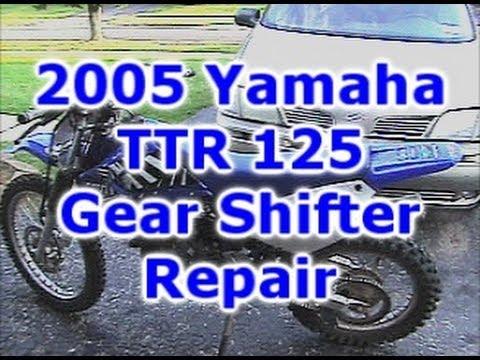 2001 yamaha ttr 125 service manual