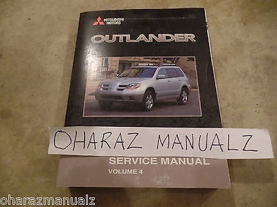 mitsubishi outlander 2003 service manual