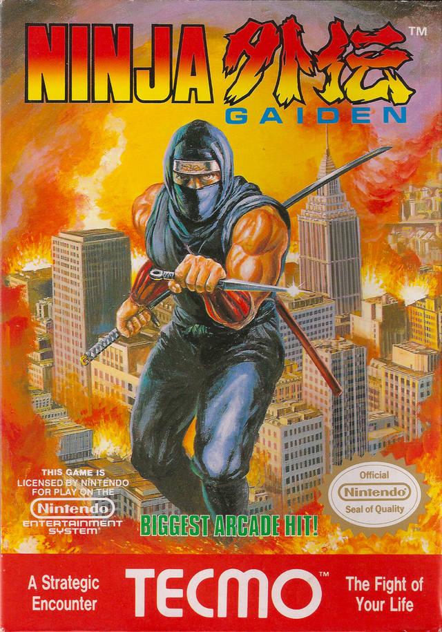 ninja gaiden 2 nes instruction manual