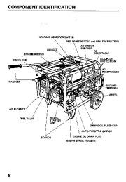 honda generator service manual pdf