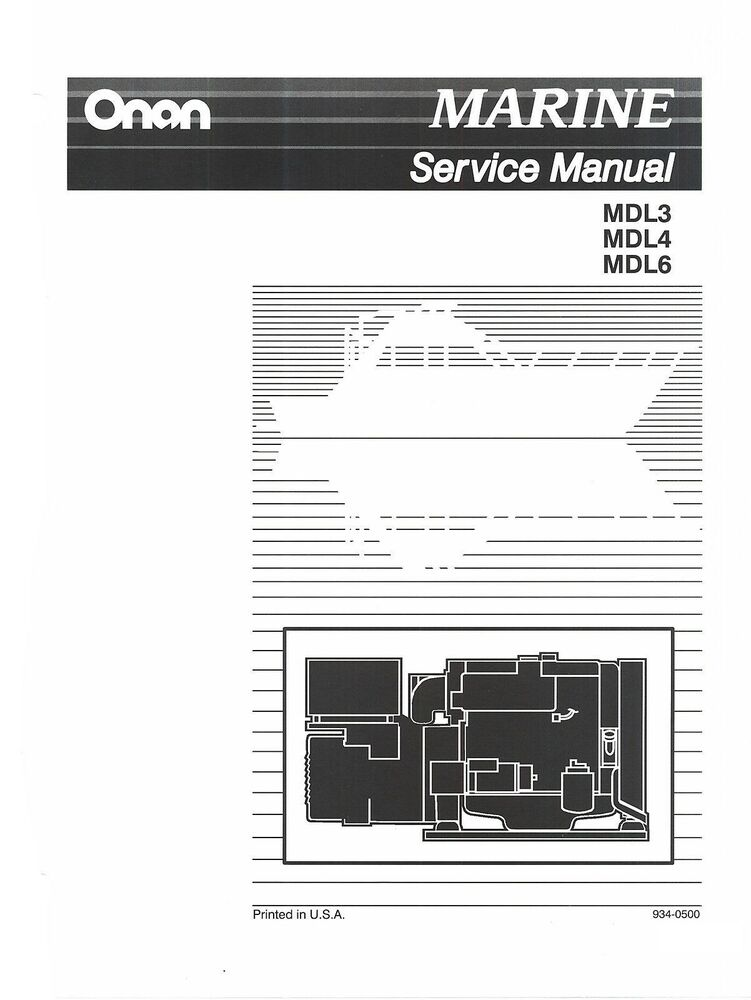 onan microquiet 4000 owners manual