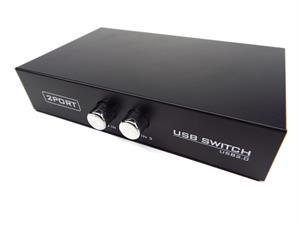 2 way usb manual switch box