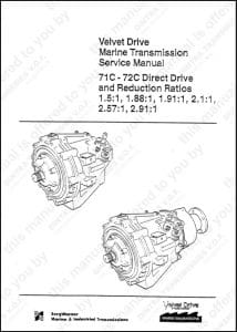 borg warner velvet drive transmission service manual