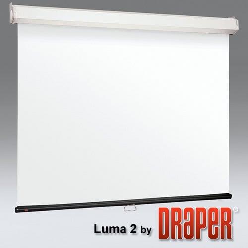 draper luma 2 manual projection screen