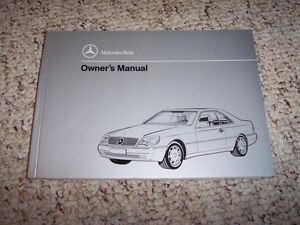1994 mercedes benz c280 owners manual