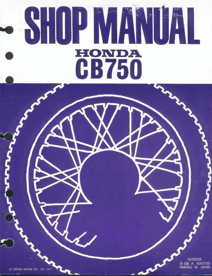 1981 honda cb750 owners manual pdf