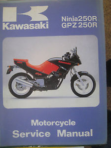 kawasaki ninja 250 service manual