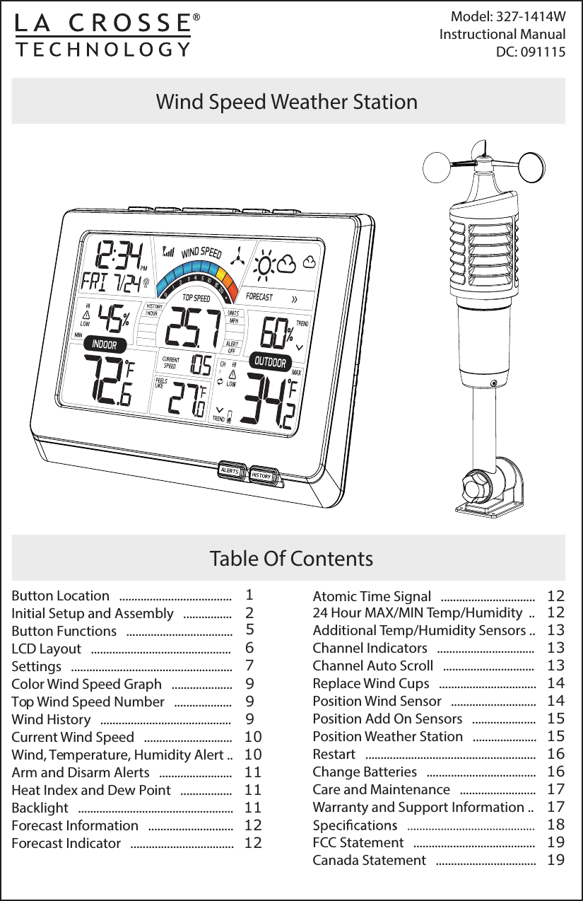 la crosse technology user manual