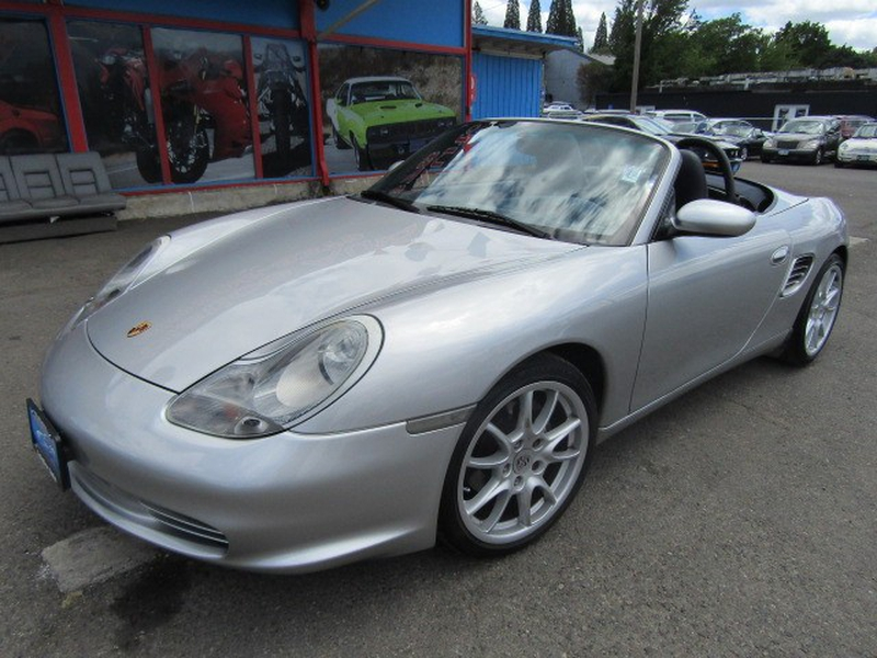 2003 porsche boxster owners manual