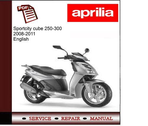 aprilia sportcity 250 service manual
