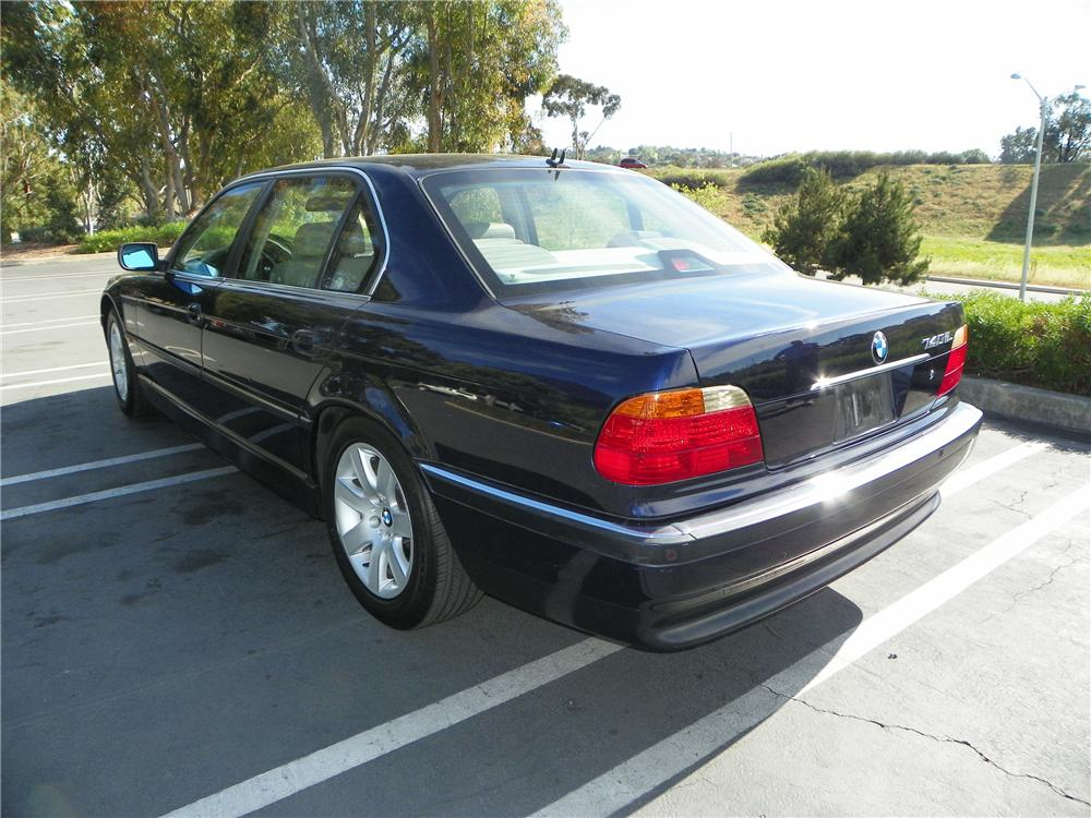 2000 bmw 740il owners manual