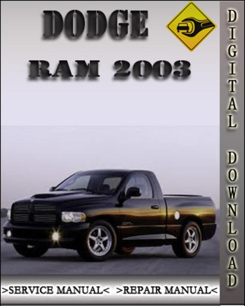 2000 dodge ram 1500 service manual free download