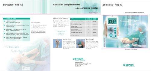 b braun stimuplex hns 12 service manual